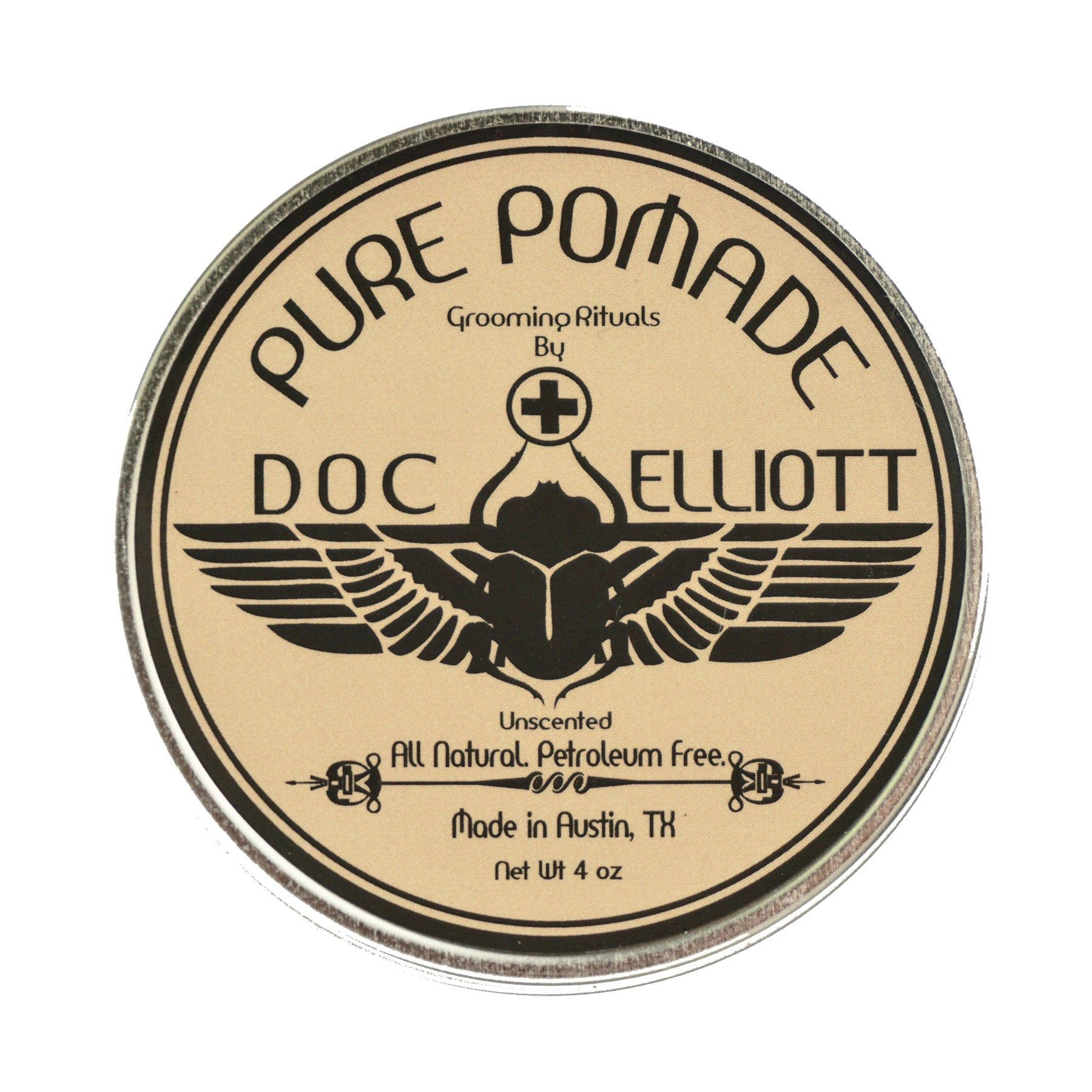 Classic Pomade Raw Label