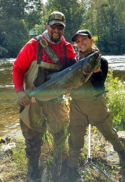 salmon river fishing weekend