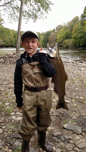 Salmon river caught by Parker