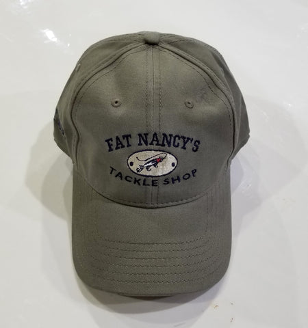 Fat Nancy's Tackle Shop Oval Lure Hat