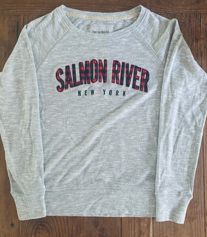 Lady's Carefree Salmon River Crew Long Sleeve Shirt