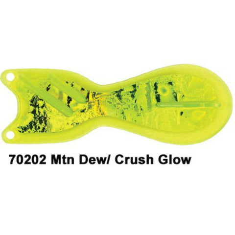 Dreamweaver Spin Doctor Flasher Mountain Dew Crush Glow 70202