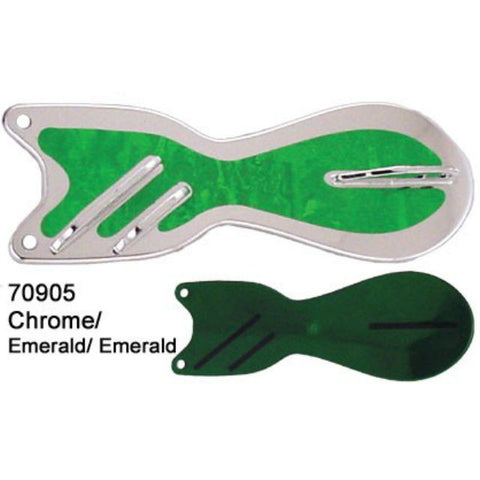 Dreamweaver Spin Doctor Flasher Chrome/ Emerald Emerald 70905