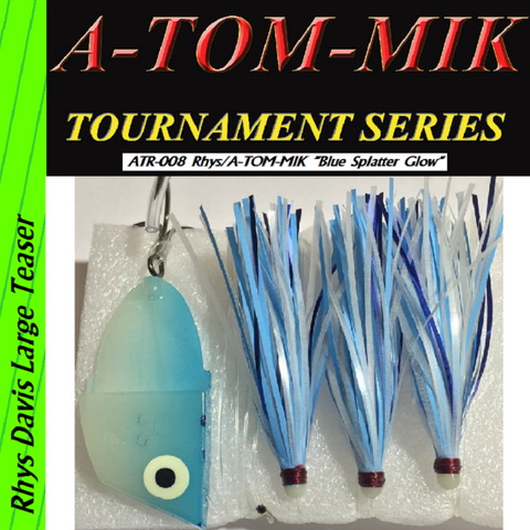 "A-TOM-MIK  ATR-008 Rhys/A-TOM-MIK ""Blue Glow Splatter"" Meat Rig"