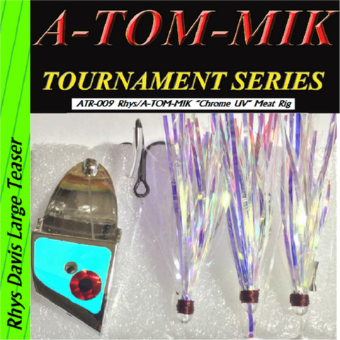 "A-TOM-MIK  ATR-009 Rhys/A-TOM-MIK ""Chrome UV"" Meat Rig"