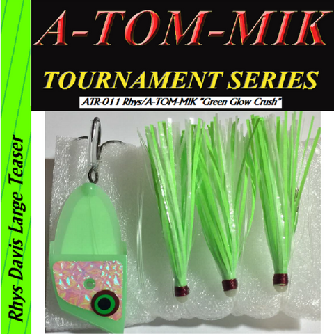 "A-TOM-MIK  ATR-011 Rhys/A-TOM-MIK ""Green Glow Crush"" Meat Rig"
