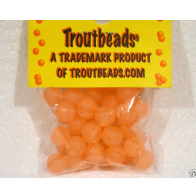 TROUTBEADS PEACH FUZZ 10 MM TROUT BEADS