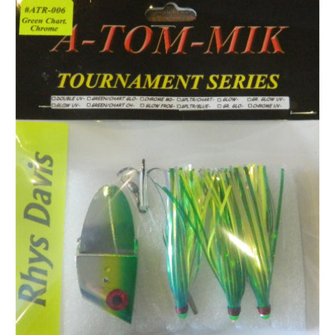"A-TOM-MIK  ATR-006 Rhys/A-TOM-MIK ""Green Chart. Chrome"" Meat Rig"
