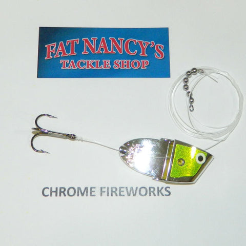 John King Clean Meat Rigs: Chrome Fireworks