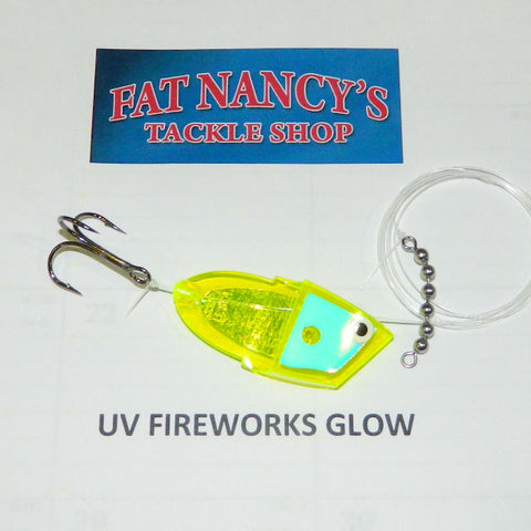 John King Clean Meat Rigs: UV Fireworks Glow