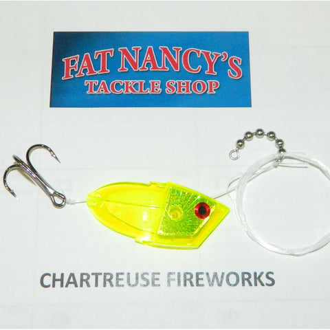 John King Clean Meat Rigs: Chartreuse Fireworks
