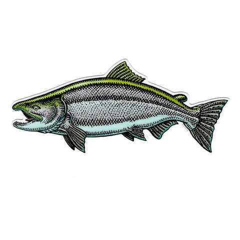 Small Salmon Decal