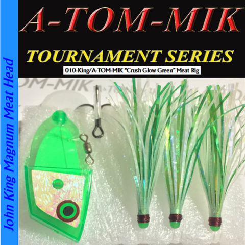 "A-TOM-MIK 010-King/A-TOM-MIK ""Crush Glow Green"" Meat Rig"