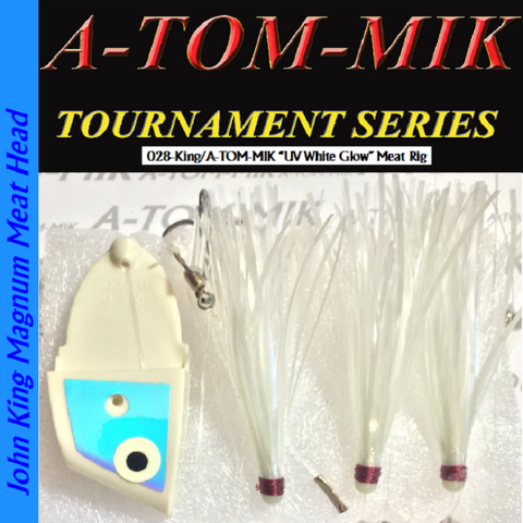 "A-TOM-MIK 028-King/A-TOM-MIK ""UV White Glow"" Meat Rig"