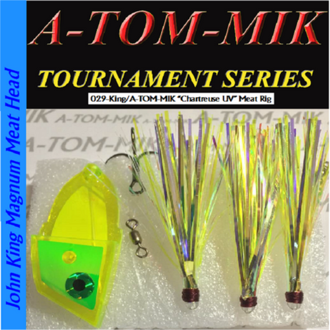 "A-TOM-MIK 029-King/A-TOM-MIK ""Chartreuse UV"" Meat Rig"
