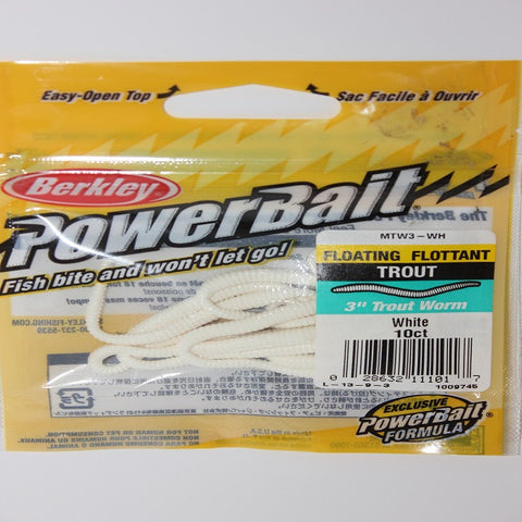 "Berkley 3"" Floating Powerbait Worms"