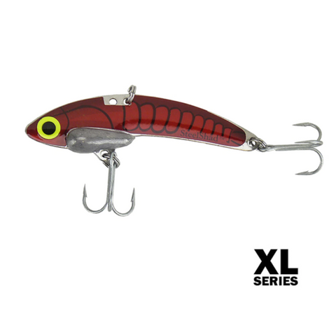 SteelShad XL  - 3/4 oz - Red (crawfish)