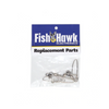 Fish Hawk Breakaway Double Snap Swivel