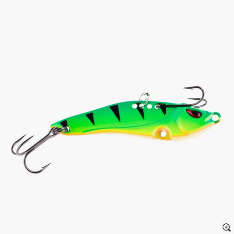Freedom Tackle Blade Bait Fire Tiger Glow