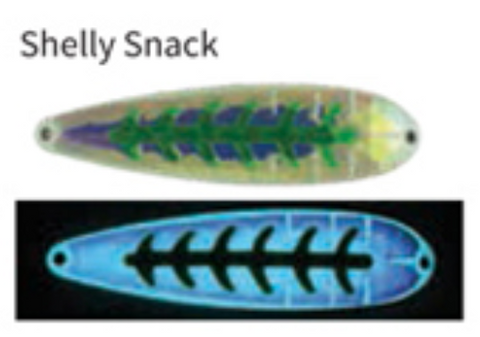 Moonshine Lures Trolling Spoon Shelly Snack