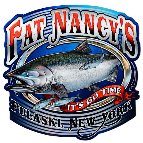 Fat Nancy's Pulaski, NY Decal