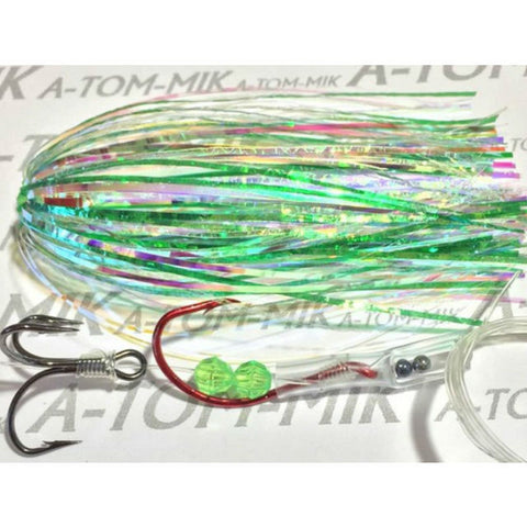 A-TOM-MIK Tournament Series Trolling Flies T029 Green Pearl (2003)