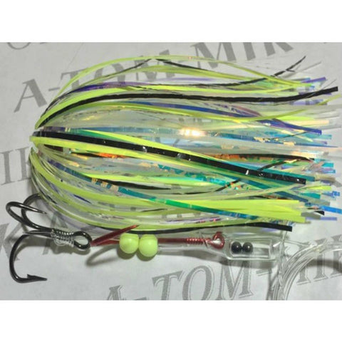 A-TOM-MIK Tournament Series Trolling Flies T415A UV Golden Frog (glow) (2017)
