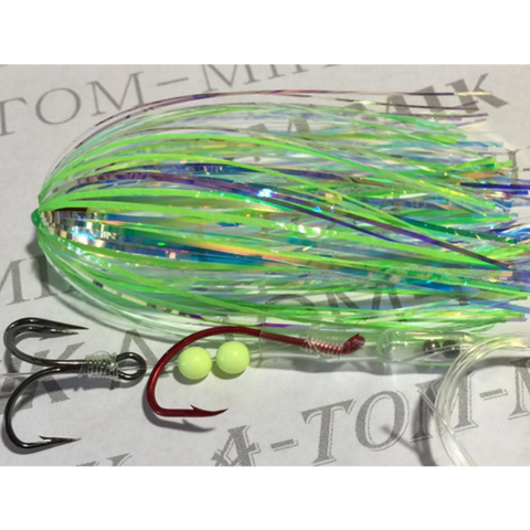A-TOM-MIK Tournament Series Trolling Flies T416 UV190-G (2017)