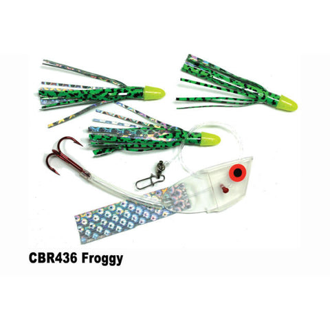 Dreamweaver Meat Head Cut Bait Rig Froggy CBR436