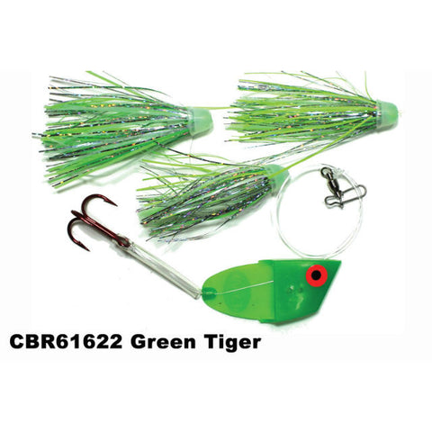 Dreamweaver Meat Head Cut Bait Rig Green Tiger CBR13622