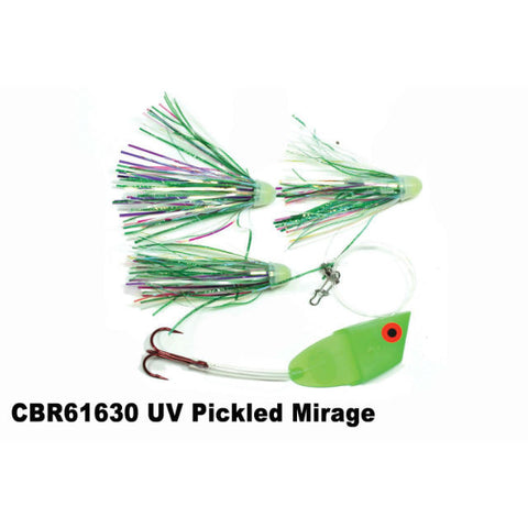 Dreamweaver Meat Head Cut Bait Rig UV Pickled Mirage CBR61630