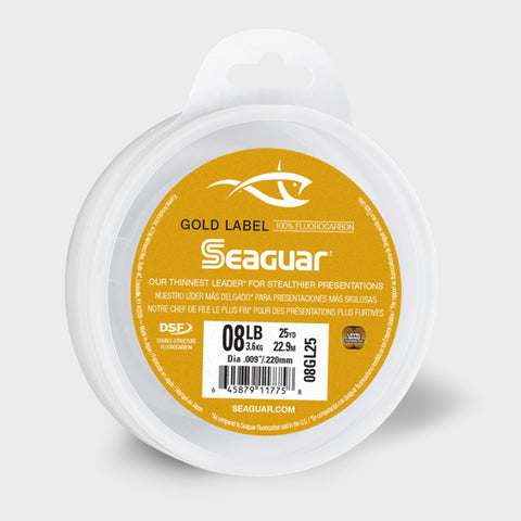 Seaguar Gold Label 100% Fluorocarbon