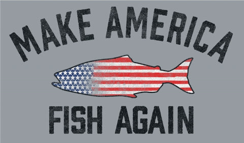 Fat Nancy's Make America Fish Again T-Shirt