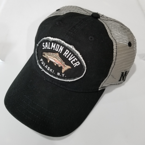 Salmon River Patch Hat