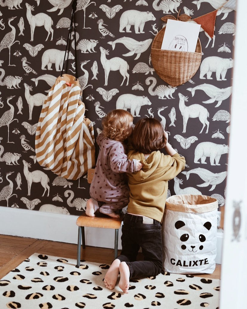 Leopard Rug | Kids Bedroom Inspiration