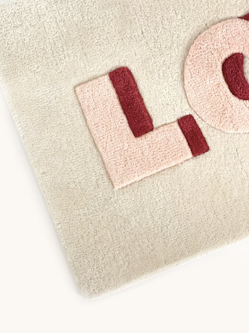 Love Rug - 3D Textured Wool Rug - Maison Deux