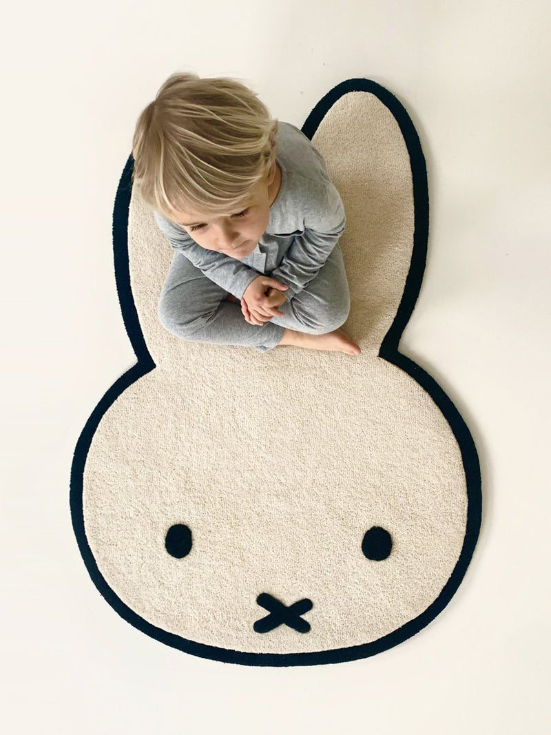 Miffy Rug - Wool Kids Rug - Maison Deux