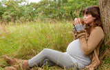 Calming tea, walk outside, pregnancy routines for relaxing