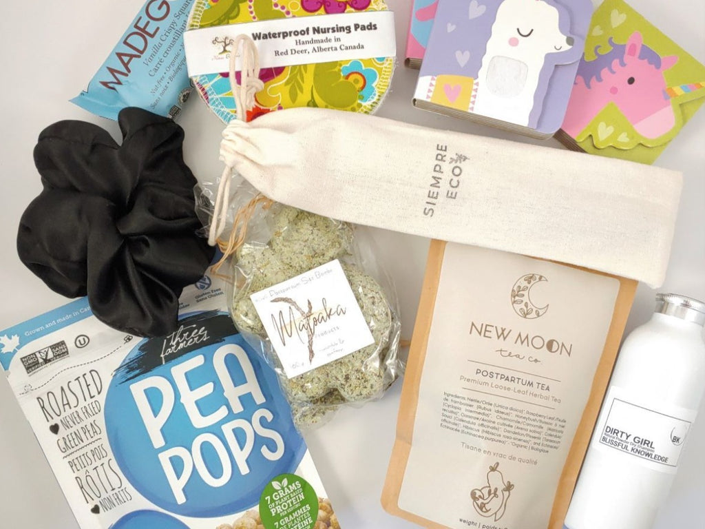 Postpartum Bundle of Joy Box, postpartum care box, basket for new moms