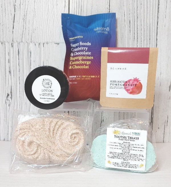 Mini Spa Day Box, self care gift, gift box, Bundle of Joy gift box
