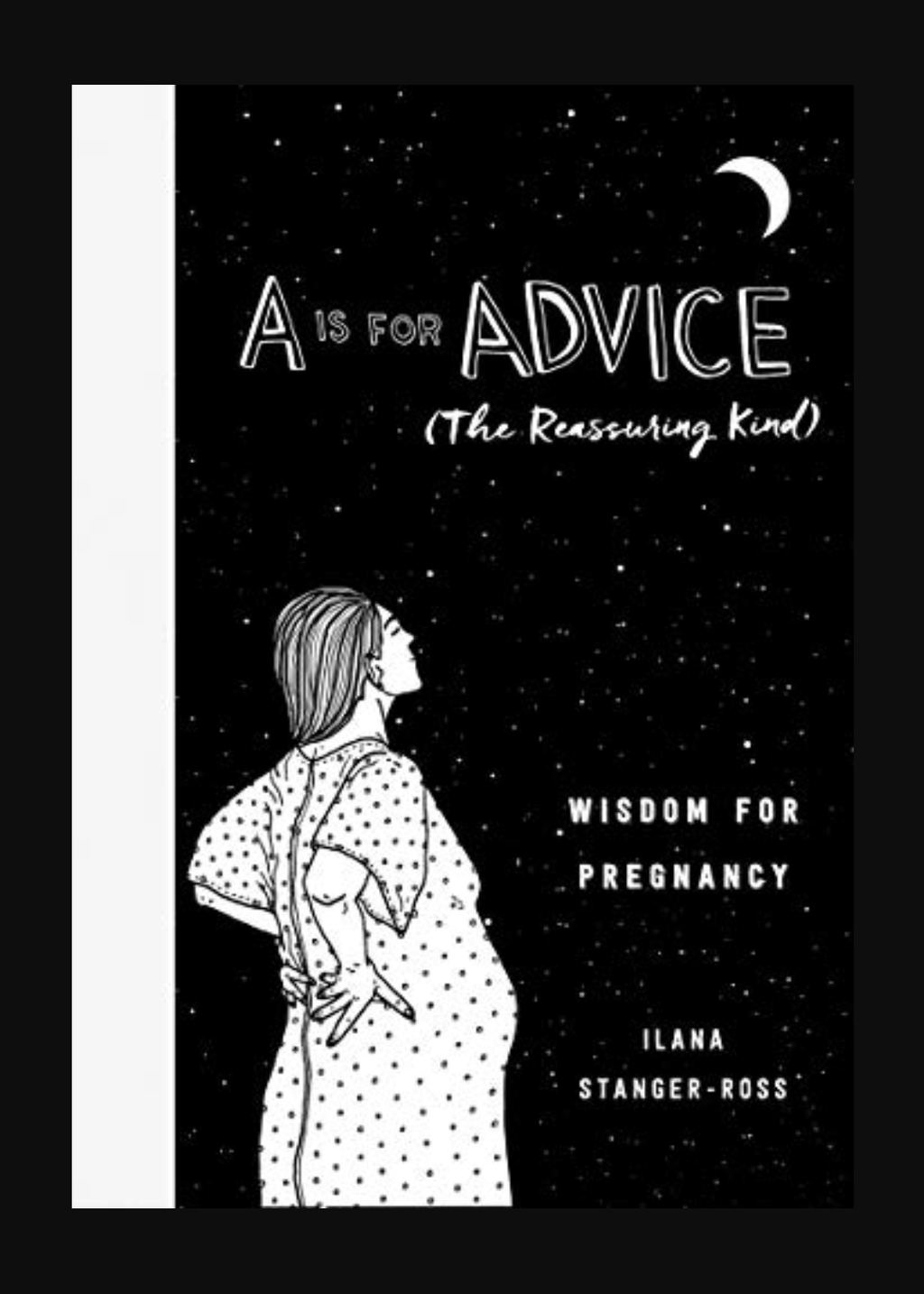 A is for Advice (the reassuring kind) pregnancy book, Bundle of Joy Box Canadian pregnancy subscription box, new parent gift