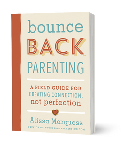 Bounceback parenting, parenting guide book Bundle of Joy Box book option, birthday gift, parenting advice, parenting workbook