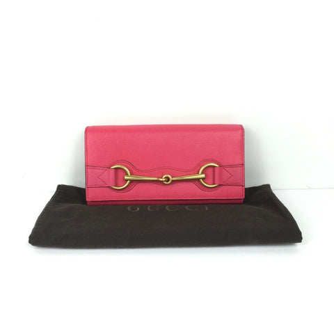 GUCCI PINK WALLET