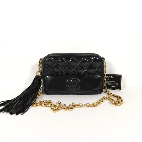 CHANEL VINTAGE CAMERA CROSSBODY BAG