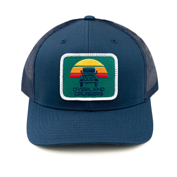 Overland Cruisers Hat (Blue/Green)