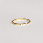 Bellis Ring - White