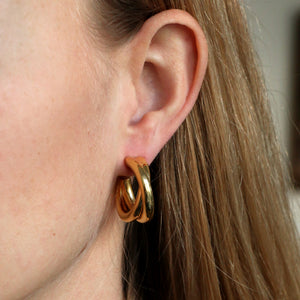 Double Chunky Hoops
