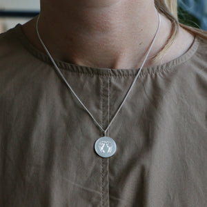 Footprint Pendant