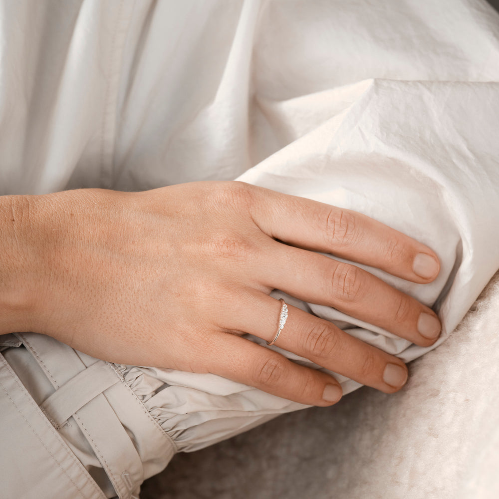 Handcraftedcph Aster ring silver
