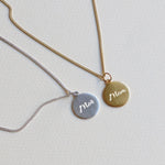 "Mother Pendant - ""Mor"" / ""Mom"""